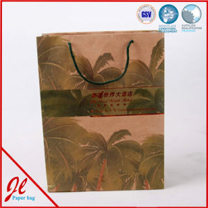 Printed Kraft Paper Shopping Packaging Carrier Gift Bags for Packing pictures & photos