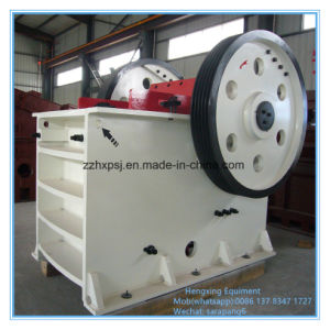 PE500*750 Mining Jaw Crusher for Gold, Iron Ore, Granite, Riverstone pictures & photos