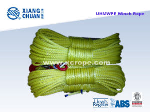 UHMWPE Yellow Winch Rope pictures & photos