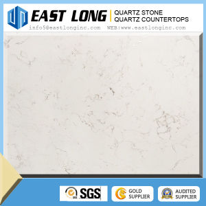 White Marble Color Artificial Quartz Stone for Home Decoration pictures & photos