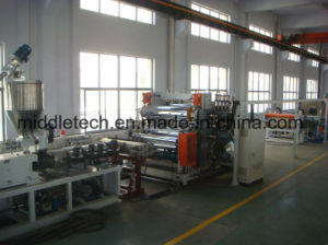 Plastic PVC/PE/PP/Pet (Artificial imitation) Marble Board/ Sheet Extrusion and Making Machine pictures & photos