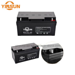 12V 65ah Solar Battery Lead Acid Battery for Inverter UPS pictures & photos