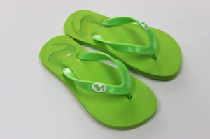 Sample Printing Color EVA Flip Flops pictures & photos