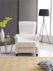 White Color Push Back America Design Arm Chair pictures & photos
