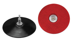 Rubber Sanding Pad W/Veclro