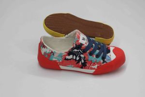 Beauty and Fashion Style Canvas Shoes with Rubber Outsole (SNK-02096) pictures & photos