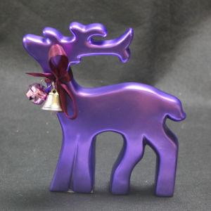 Polyresin Deer Decoration (LE46-11BR001-1)