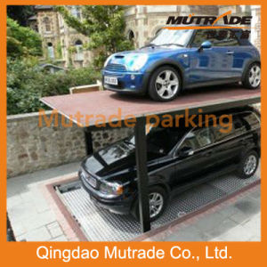 2-3 Floors Motor Drive Pit Four Post Parking System (PFPP M) pictures & photos
