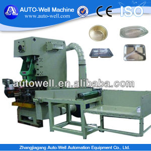Automatic Aluminum Foil Take Away Food Container Making Machinery pictures & photos