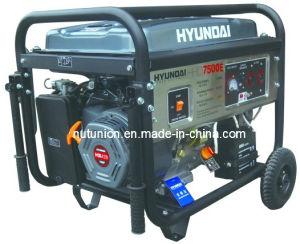 Original Korea Technology Gasoline Generator for Hyundai (HHD 7500)