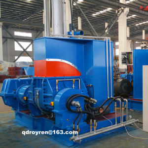 Qishengyuan Professional Manufacturer of Rubber Kneader Machine / Banbury Rubber Mixer Machine (CE SGS ISO TUV CERTIFICATION) 35L/55L/75/110L/150L pictures & photos