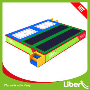 Long Professional Trampoline for Tumbling pictures & photos