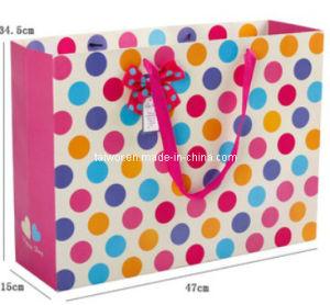 Taiwor Rond-DOT Paper Packing Shopping Bag