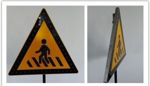 Personalized Outdoor Metal Sign for Advertisement; Aluminum Road Sign Aluminum Display Stand pictures & photos