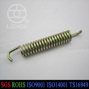 Extension Spring Color Zinc Plated. Customized