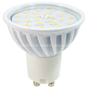 New White Dimmable GU10 24 2835 SMD LED Bulb Lamp Light 120degree pictures & photos