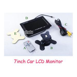 "Small Size 7"" Car Monitor, 2AV, Built-in Speaker pictures & photos"