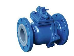 Fluorine Lined Ball Valve/Flanged/Q41f-16c/Handle/Wormgear/ Pneumatic/Electric pictures & photos