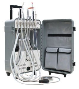 Mobile Dental Unit with Curing Light, Scaler