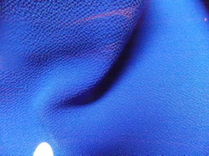100% Polyester Georgette Crepe Dyed Fabric pictures & photos
