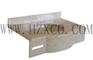 G682 Slab/Polihsed/Honed/Bushhammered/Rusty Yellow Granite for Countertop/Paving/Tile/ pictures & photos