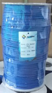 Blue Colour PE Braided Twine Rope pictures & photos