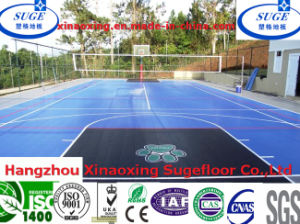 Environment Friendly Easy Install PP Basketball Court Sports Floor pictures & photos
