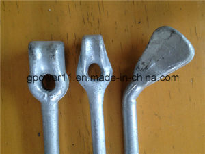 Hot Forged Thimble Eye Head Line Anchor Rod pictures & photos