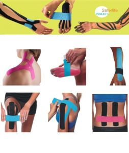 2017 Cheap Therapy Popular Sport Kinesiology Taping China Tape on Arm Tape on Knee Tape on Shoulder pictures & photos