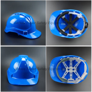 Ce En397 Approval Vented Shell Safety Helmet with Chin Strap (SH501) pictures & photos