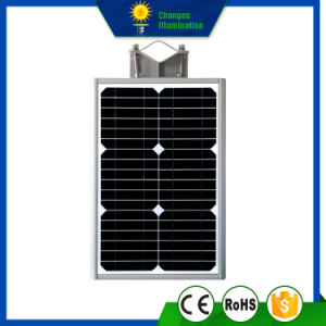 8W All in One LED Panel Solar Street Light pictures & photos