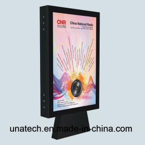 Outdoor Street Road Highway Stand Free Advertising Aluminium Scrolling LED Back Light Box Billboard pictures & photos