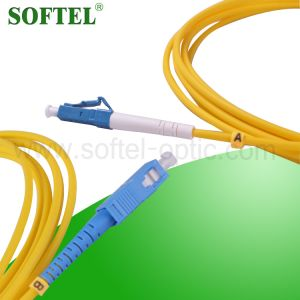 Trunk MPO Patch Cord /Single Mode Duplex Fiber Optic MPO Patch Cord pictures & photos