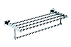 Stainless Steel Double Tier Towel Rack (JP-722) pictures & photos