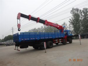 12tons Big Telescopic Boom Truck Mounted-Crane pictures & photos