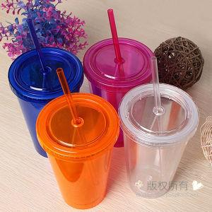 Acrylic Tumbler Plastic Tumbler Promotional Tumbler Juice Tumbler pictures & photos