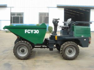 Fcy30 4X4 Hydraulic Mini Dumper, Hydraulic Dumper pictures & photos