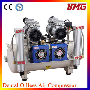 2*850W Power Dental Oilless Air Compressor pictures & photos