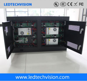 P3mm Indoor Iron Cabinet Front Service Wall Mounted LED Wall (P3mm, P4mm, P5mm, P6mm) pictures & photos