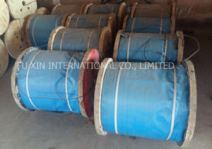 Ungalvanized Steel Wire Rope for Elevator, Engineering Works pictures & photos