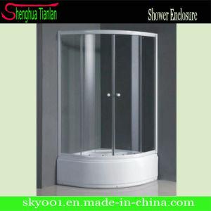Hot Corner Standing Sliding Shower Enclosure Room (TL-533) pictures & photos