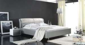 High Quality European Style Elegant Modern Soft Bed (6058) pictures & photos