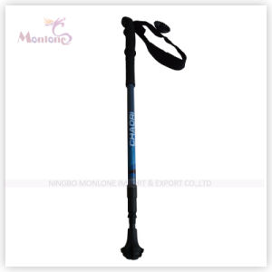 3-Section Aluminum Trekking Pole for Hiking pictures & photos