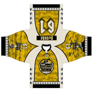 Personalized Sublimated Ice Hockey Jersey Wear for Players pictures & photos