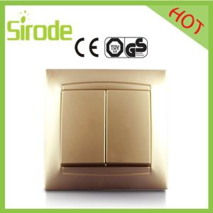 9206 Series Golden Wall Switch