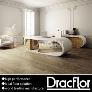Deep Embossed PVC Flooring Self Adhesive Vinyl Tiles pictures & photos