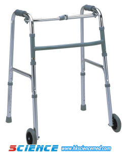 Aluminum Foldable Walker with Wheels (SC-WK09(A)) pictures & photos