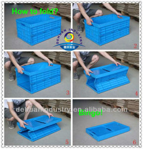 Plastic Logistics Storage Crates pictures & photos