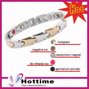 Titanium Steel Bracelet with Germanium pictures & photos