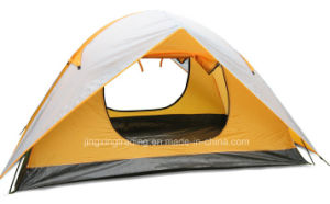 Popular Double-Skin Polyester Camping Tent for 2 Persons (JX-CT030) pictures & photos